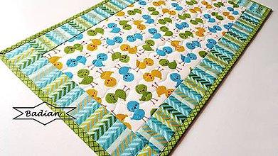 Úžitkový textil - Green Chicken .... obrus - 7948793_