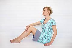 Šaty - Dámske šaty Mint antilopa - 7949694_