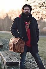 Veľké tašky - Monty - kožená brašna - 7946657_