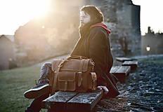 Veľké tašky - Monty - kožená brašna - 7946658_