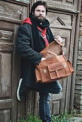 Veľké tašky - Monty - kožená brašna - 7946665_