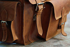 Veľké tašky - Monty - kožená brašna - 7946709_