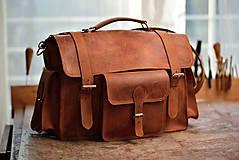 Veľké tašky - Monty - kožená brašna - 7946710_