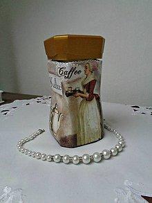 Nádoby - Coffee - dóza na kávičku - 7946446_