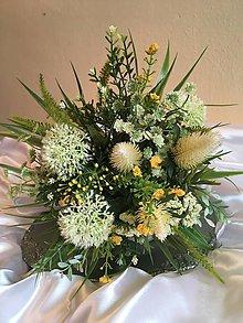 Kytice pre nevestu - svadobná kytica trávová - 7949211_