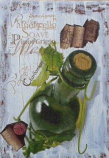 Obrázky - Vínová fľaša - 7946683_