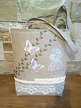 Veľké tašky - Taška 100%l'an- GARDEN OF PEARLS - 7947749_