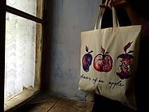 Nákupné tašky - Fázy jablka - 7946099_
