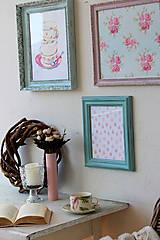 Obrázky - Little Old Roses - predaný - 7946404_