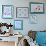 Obrázky - Little Old Roses - predaný - 7946406_