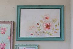 Obrázky - Little Old Flower - predaný - 7946430_