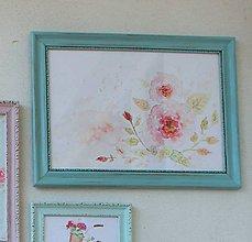 Obrázky - Little Old Flower - predaný - 7946426_