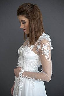 Šaty - Hodvábne svadobné šaty - 7947085_