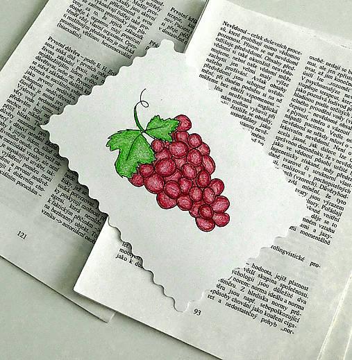 Minipohľadnica - hrozno