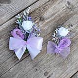 Pierka - Svadobné pierka fialkové - objednávka - 7951288_