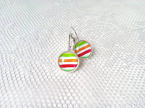 Náušnice - Retro summer earrings - 7953515_