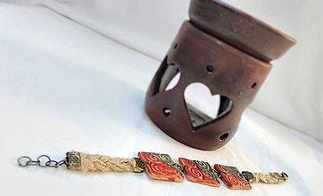 Náramky - Náramok z keramiky Hemka - 7951495_