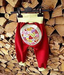 Detské oblečenie - Srdiečkové - 7952414_