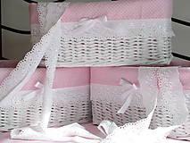 Košíky - Košíky - Ružová jemnosť III - 7953121_