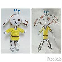 Hračky - Psikulienka - hračka z kresby - 7951102_