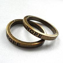 Komponenty - Kov.krúžok 21mm-1ks (HOPE-st.bronz) - 7953775_