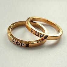 Komponenty - Kov.krúžok 21mm-1ks (HOPE-st.zlatá) - 7953842_