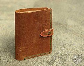 Peňaženky - Kožená peňaženka aj na veľké doklady 05a - 7953335_