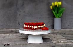 Pomôcky - Betónový stojan na tortu DULCIS - 7953905_