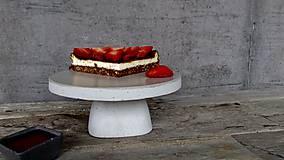 Pomôcky - Betónový stojan na tortu DULCIS - 7953909_