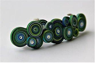 Iné šperky - Dúholínka - spona do vlasov - 7951375_