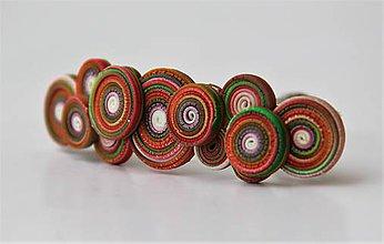 Iné šperky - Dúholínka spona do vlasov - 7951624_