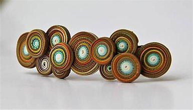 Iné šperky - Dúholínka spona do vlasov - 7951746_
