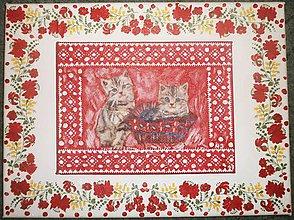 Obrazy - Obrázok mačiatka - 7953407_