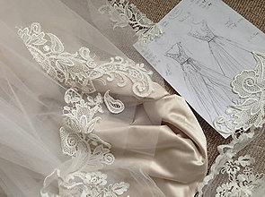Šaty - Svadobné šaty navrhované a šité na mieru - 7951222_