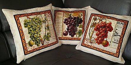 Úžitkový textil - Pre milovníkov vína... - 7951488_