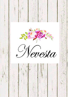Papiernictvo - Floral menovky - 7952091_
