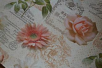 Úžitkový textil - Obrus Rose Parfumer digi 90x150 - 7955428_