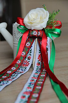 Pierka - svadobné pierko pre ženícha alebo starejšieho