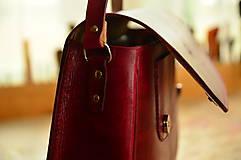 Kabelky - kožená kabelka  PASPULA,  XL - 7958263_