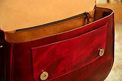 Kabelky - kožená kabelka  PASPULA,  XL - 7958265_