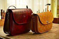 Kabelky - kožená kabelka  PASPULA,  XL - 7958269_