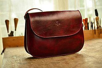 Kabelky - kožená kabelka  PASPULA,  XL - 7958309_