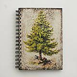 Papiernictvo - Zápisník - strom - 7955641_