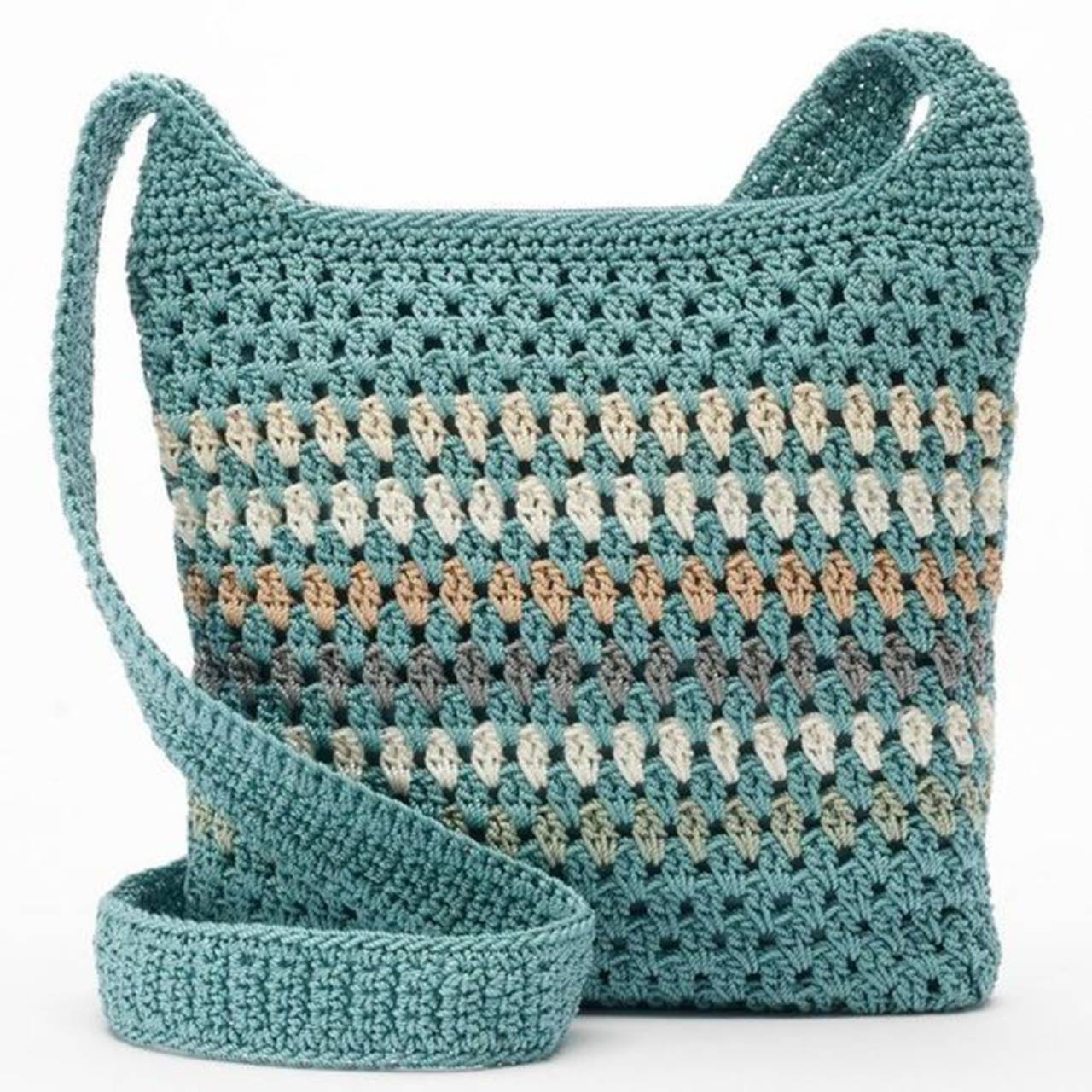 Easy Crochet Crossbody Bag Pattern : Ha?kovana mandala, aj ako crossbody... / NOVELINKOVA ...