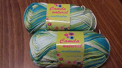 Galantéria - Camila Natural Multicolor - 7956405_