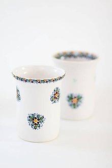 Nádoby - Farebný pohár na kefky - 7954663_