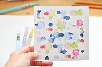 Papiernictvo - Blahoželanie Bublinky - 7955027_