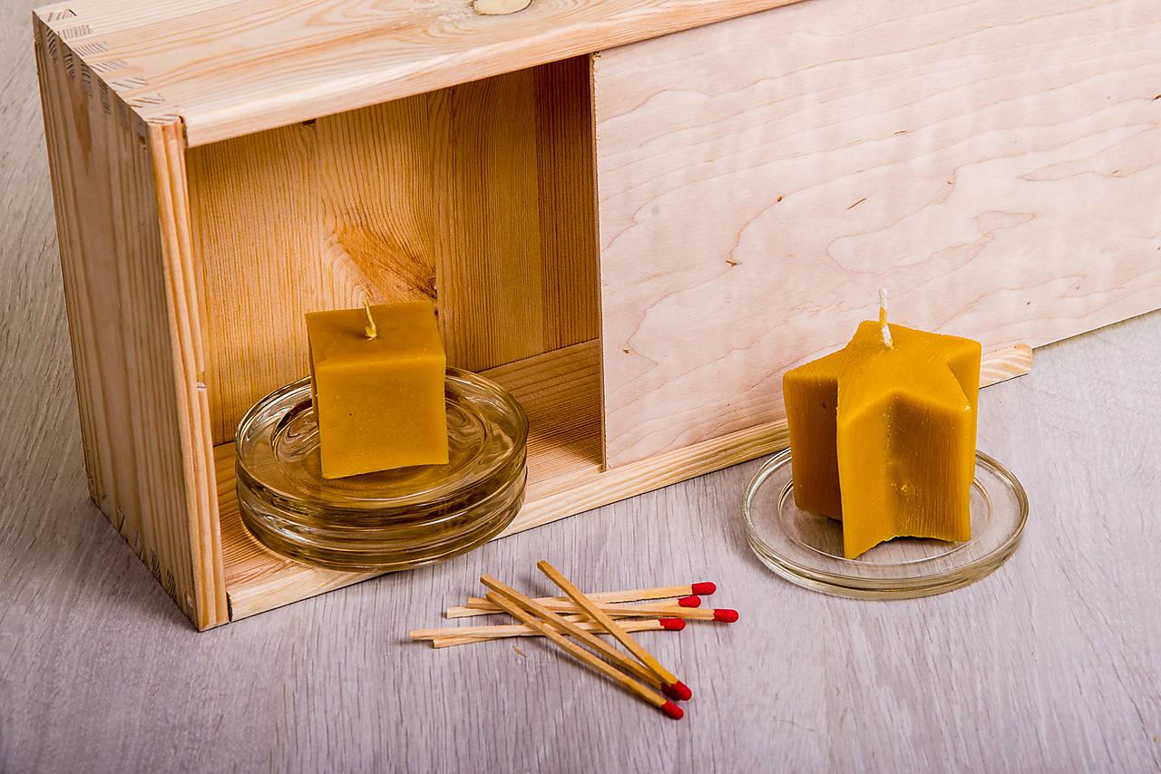 Včelí kRAJ: Sviečka z včelieho vosku
