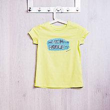 Detské oblečenie - Dobrá krajina: neVIEM čo od DOBROty detské tričko - 7958237_