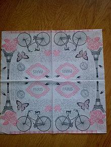 Papier - Servítka Paris - 7956959_